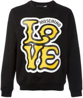 Love Moschino 'Love' print sweatshirt