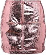 For Love & Lemons Mini skirt rosemetallic