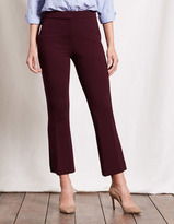 Boden Hampshire Crop Flare Trousers