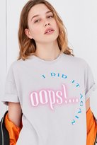 Urban Outfitters Oops I Did It Again Tee