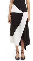 J.W.Anderson Women's Asymmetrical Hem Maxi Skirt