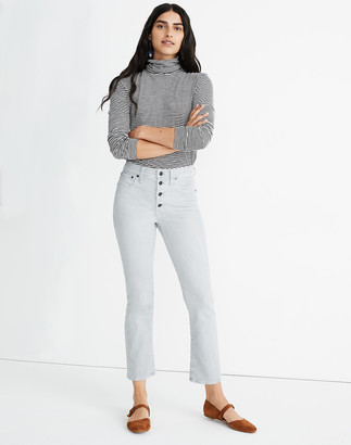 Madewell Tall Cali Demi-Boot Jeans in Corduroy: Button-Front Edition