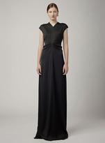 Proenza Schouler Short Sleeve Gown