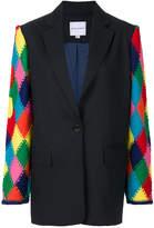 Mira Mikati knitted sleeve blazer