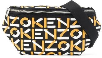 Kenzo All-Over Logo Belt Bag