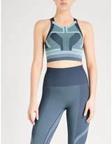 LNDR Spectrum knitted sports bra
