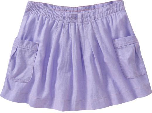 Old Navy Women's Linen-Blend Mini Skirts