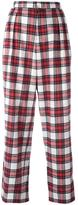 Each X Other tartan slouchy pants - women - Cotton - XS