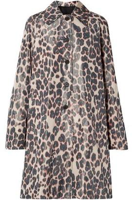 Calvin Klein Printed Taffeta Coat