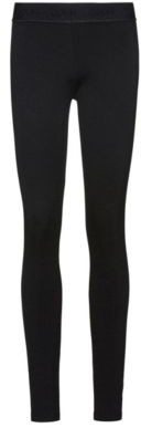 Super-skinny-fit jersey pants with zippered hems