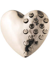 Alexis Bittar Domed Heart Grater Pin