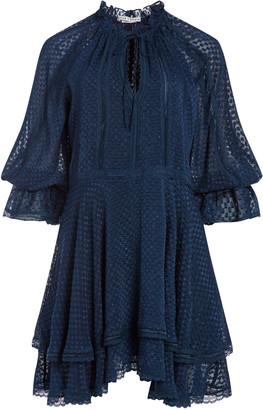 Alice + Olivia Joanne Handkerchief Mini Dress