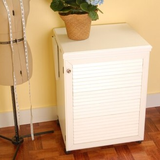 Arrow Sewing Cabinets Sewnatra Sewing Cabinet Color: White