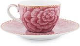 Pip Studio Spring To Life Espresso Cup & Saucer - Pink