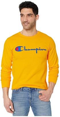 Champion LIFE Heritage Long Sleeve Tee (Black) Men's Clothing