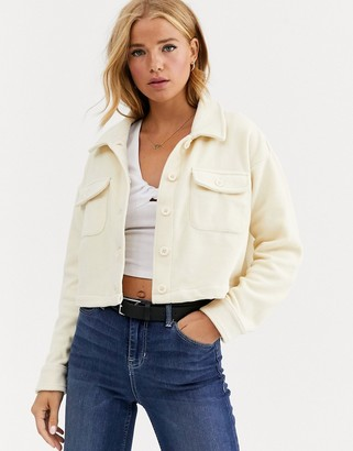 Cotton On Cotton:On Polly cropped soft utility shirt