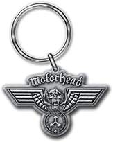 Officially Liscenced Product Motorhead lemmy Hammered band logo new Official metal Keyring Key Chain