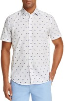Robert Graham Tareck Sunglasses-Print Slim Fit Button-Down Shirt