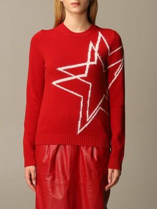 N°21 N 21 Sweater Star Jacquard Crewneck