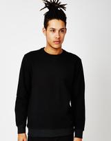 Lee L80Z Regular Fit Crew Sweatshirt Black