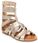 Stevies Girls' #STEPHIE Gladiator Sandals - Gold