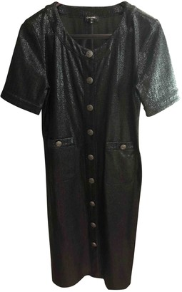 Chanel Black Viscose Dresses