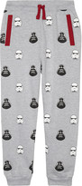 FABRIC FLAVOURS Vader & Trooper print cotton tracksuit bottoms 3-10 years