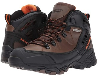 Skechers Relaxed Fit Pedley Aster (Brown) Men's Boots