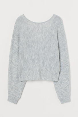 H&M Twist-detail jumper