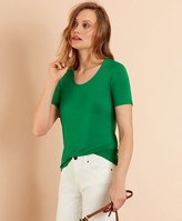 Brooks Brothers Scoop-Neck T-Shirt