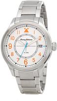 Tommy Bahama Men&s Island Scout Stainless Steel Bracelet Watch