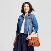 A New Day Women's Embroidered Denim Jacket - A New Day Dark Indigo