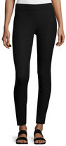 Joseph Cotton Stretch Leggings, Black