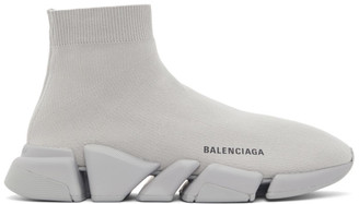 Balenciaga Grey Speed 2.0 Sneakers