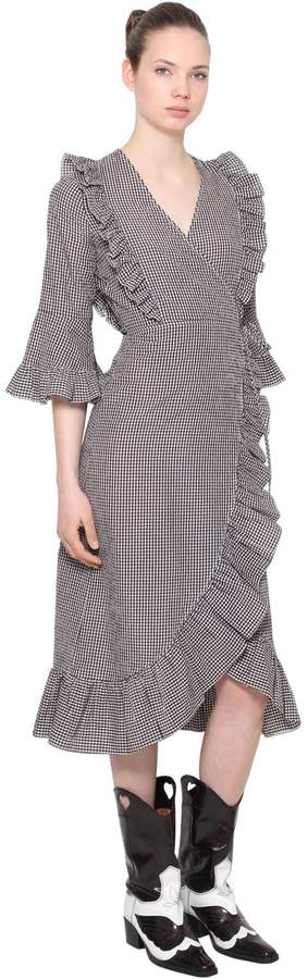 04b99b4a863f Ganni Wrap Dresses - ShopStyle Australia