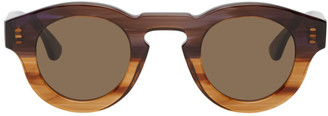 Thierry Lasry Purple and Brown Rumbly Sunglasses