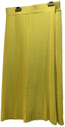P.A.R.O.S.H. Yellow Skirt for Women
