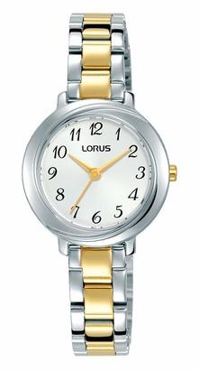 Lorus Womens Analogue Quartz Watch with Brass Strap RG283PX9