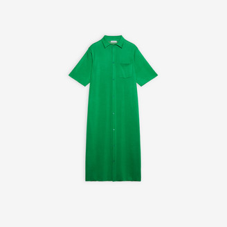 Balenciaga Long Shirt Dress