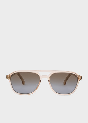 Paul Smith Tobacco Crystal 'Alder' Sunglasses