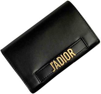 Christian Dior J'adior Black Leather Clutch bags