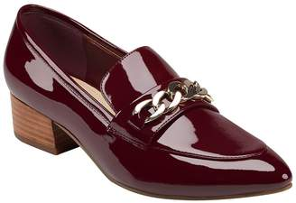 Marc Fisher Chain Bit Heeled Loafer