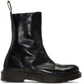 Vetements Black Dr. Martens Edition 'Borderline' Boots
