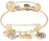 RJ Graziano B Initial Charm Bracelet