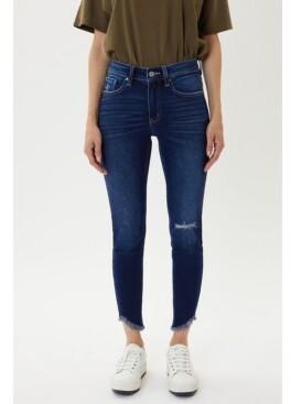 Kancan Women's High Rise Ankle Skinny Jeans