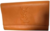Saint Laurent Leather Clutch Purse