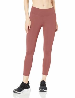 Amazon Essentials Women's Studio Sculpt Mid-Rise 7/8 Length Yoga Legging