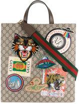 Gucci GG Supreme tote - men - Polyurethane/Leather - One Size