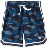 Osh Kosh Boys 4-12 Camouflaged Mesh Active Shorts