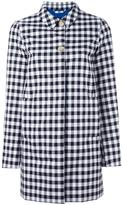Woolrich checked mid coat - women - Cotton - XS